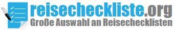Reisecheckliste Logo